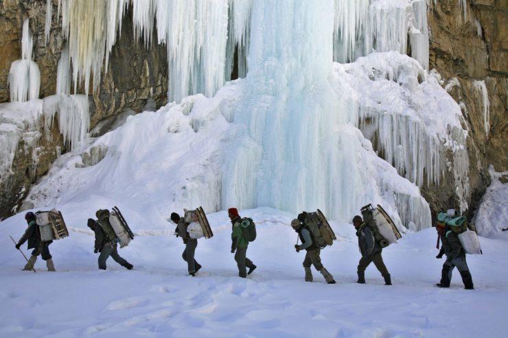 Zanskar, the Long Road to School