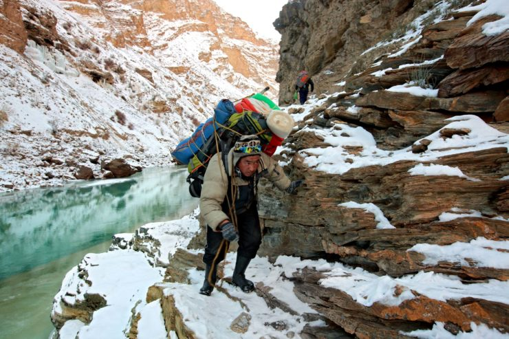 Zanskar, the Long Road to School