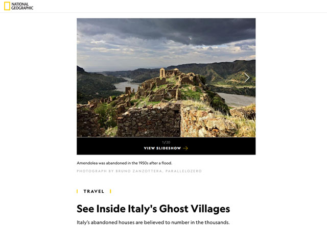 See Inside Italy's Ghost Villages 1