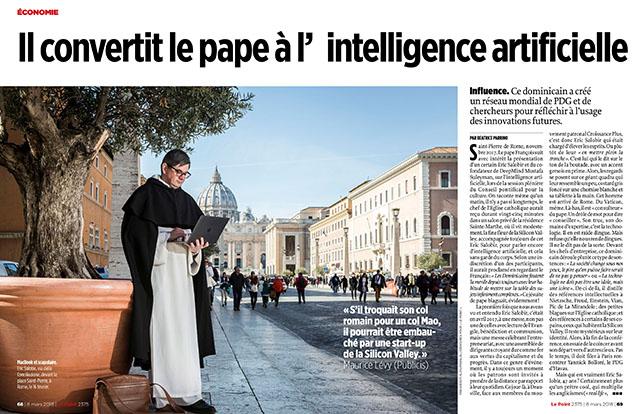 Il convertit le pape à l'intelligence artificielle 1