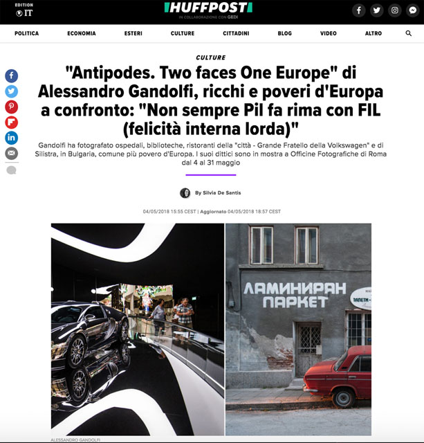 Antipodes. Two faces One Europe 1