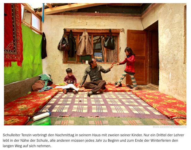 Lehrer im Himalaya   Schule auf dem Dach der Welt 12