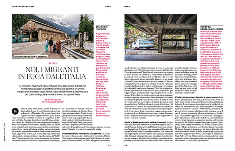 Noi, i migranti in fuga dall'Italia 1