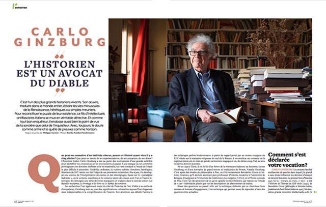 Carlo Ginzburg | L'historien est un avocat du diable 1