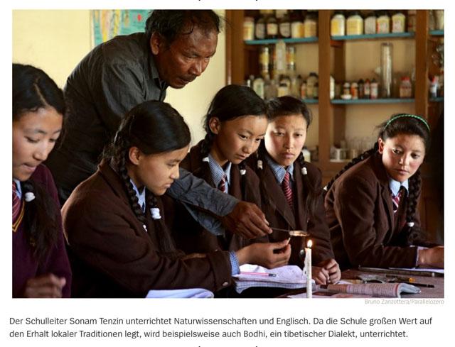 Lehrer im Himalaya   Schule auf dem Dach der Welt 8