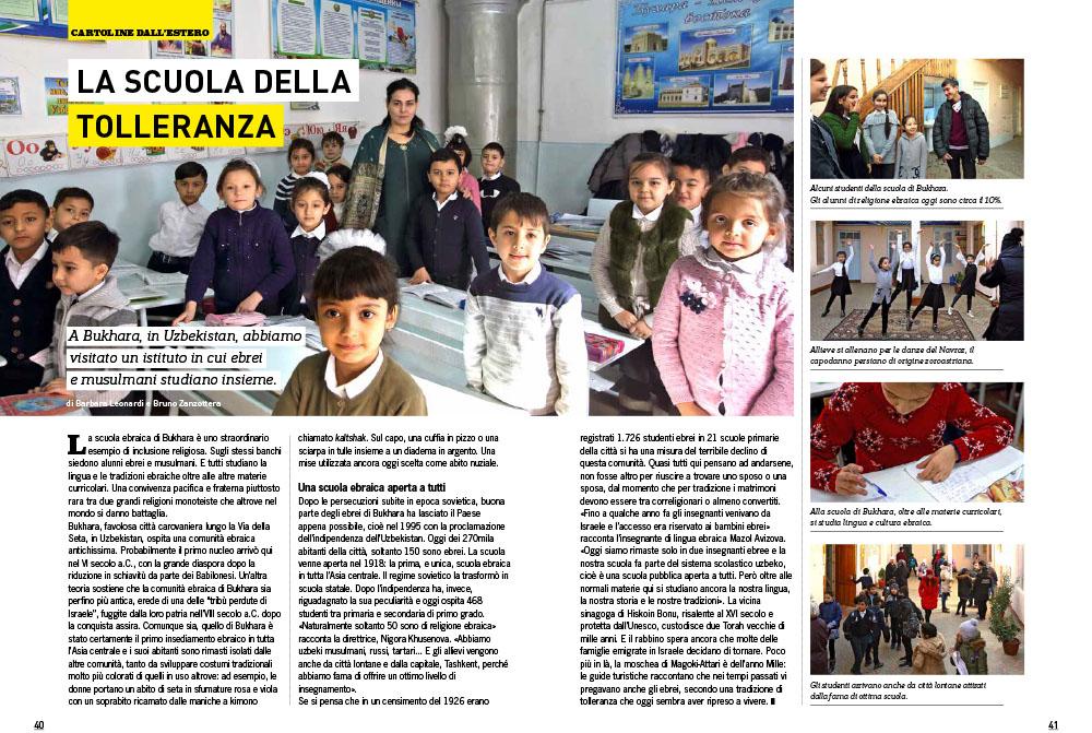 Bukhara - Uzbekistan   La scuola della tolleranza 1