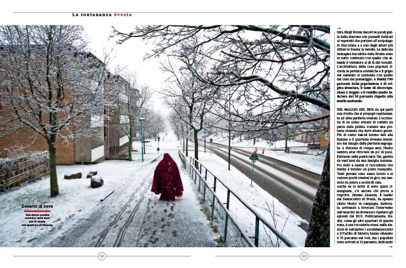 Stoccolma | La linea blu degli immigrati 3