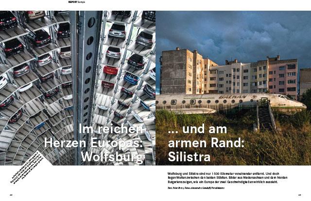 Im reichen Herzen Europas: Wolfsburg... und am armen Rand: Silistra 1