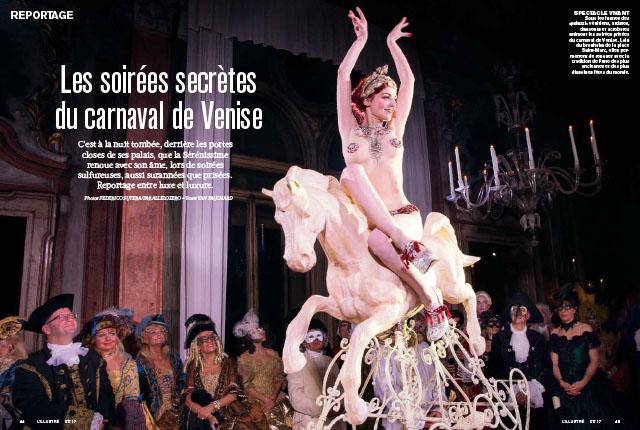 Les soirées secrètes du carnaval de Venise 1