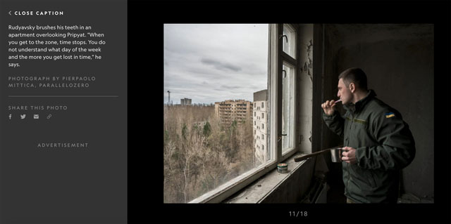 Illegal Visits to Chernobyl's Dead Zone 11