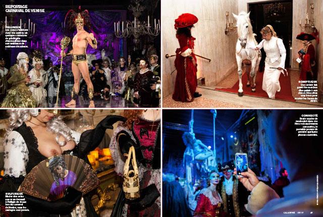Les soirées secrètes du carnaval de Venise 2