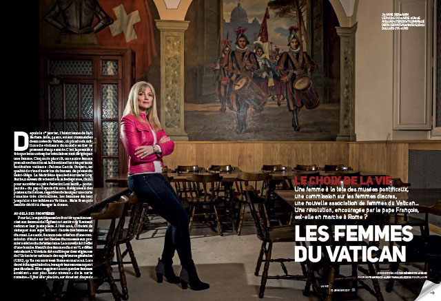 Les femmes du Vatican 2