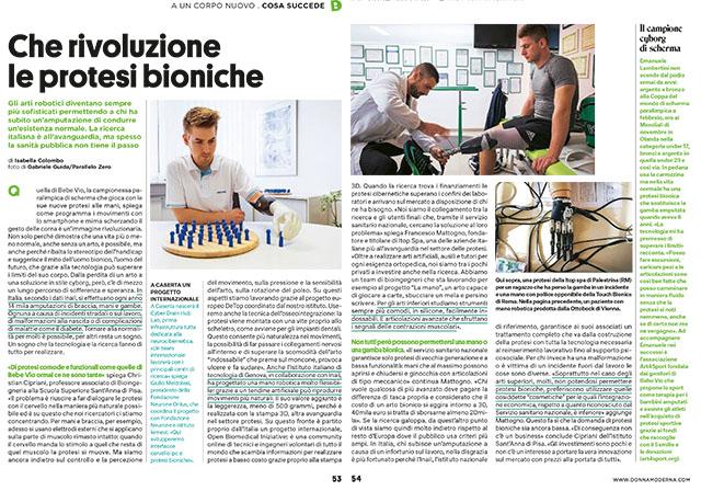 Che rivoluzione le protesi bioniche 1