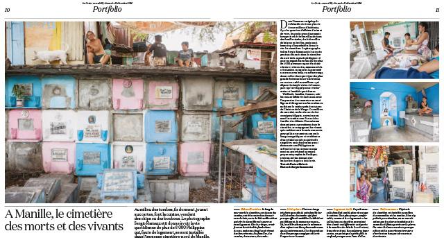 A Manille, le cimetière des morts et des vivants 1