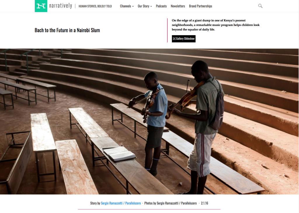 Bach to the future in a Nairobi slum 1