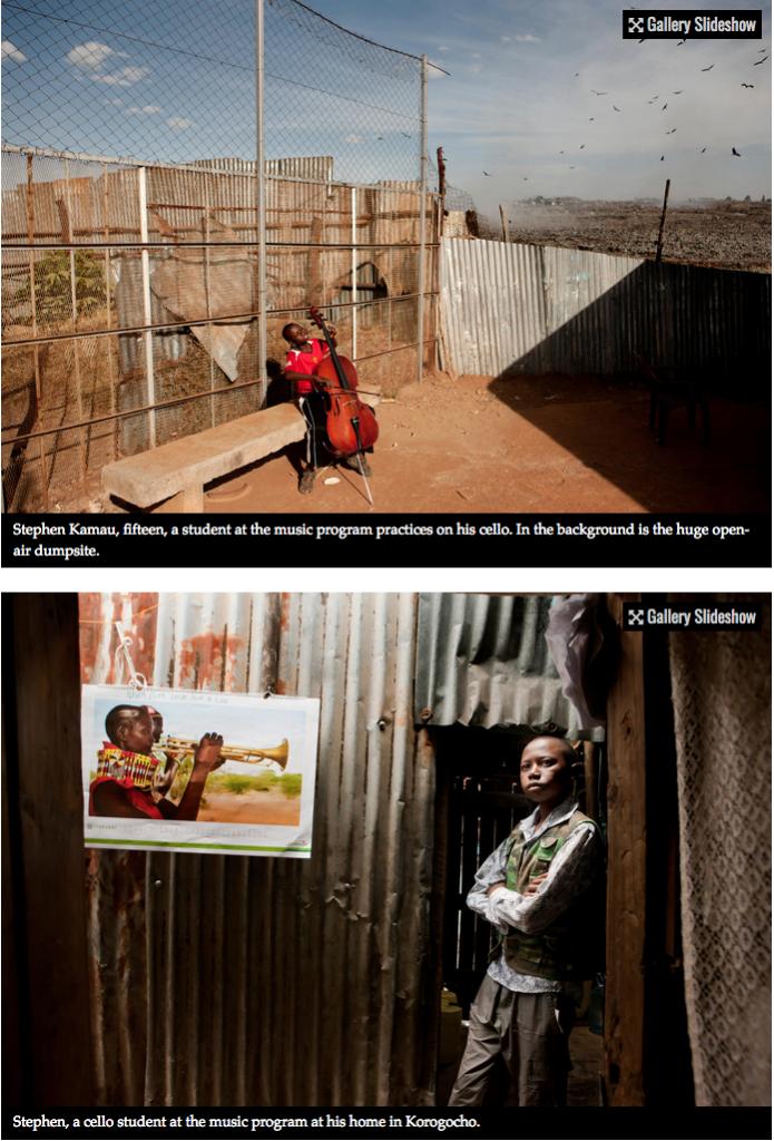 Bach to the future in a Nairobi slum 2
