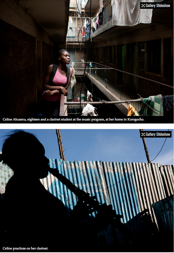 Bach to the future in a Nairobi slum 4