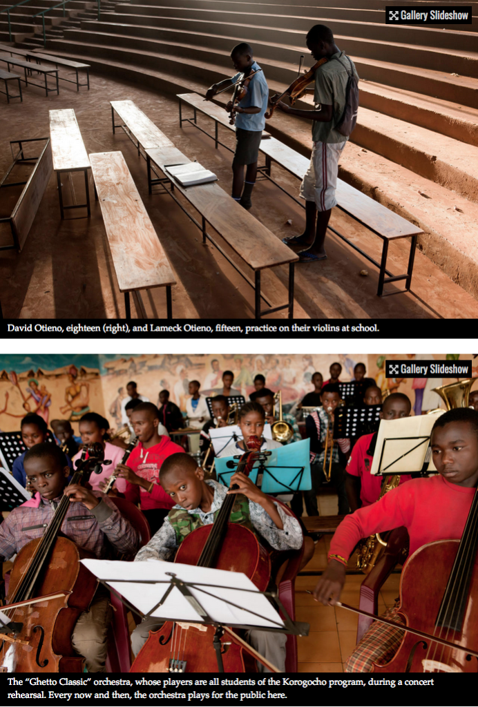 Bach to the future in a Nairobi slum 5