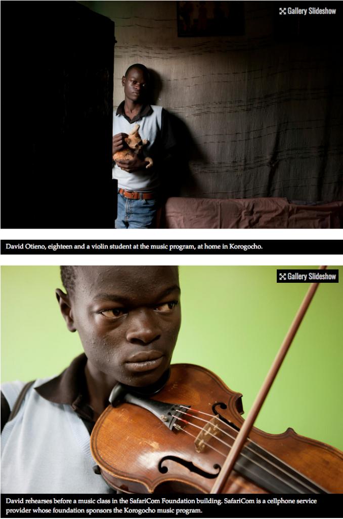 Bach to the future in a Nairobi slum 6