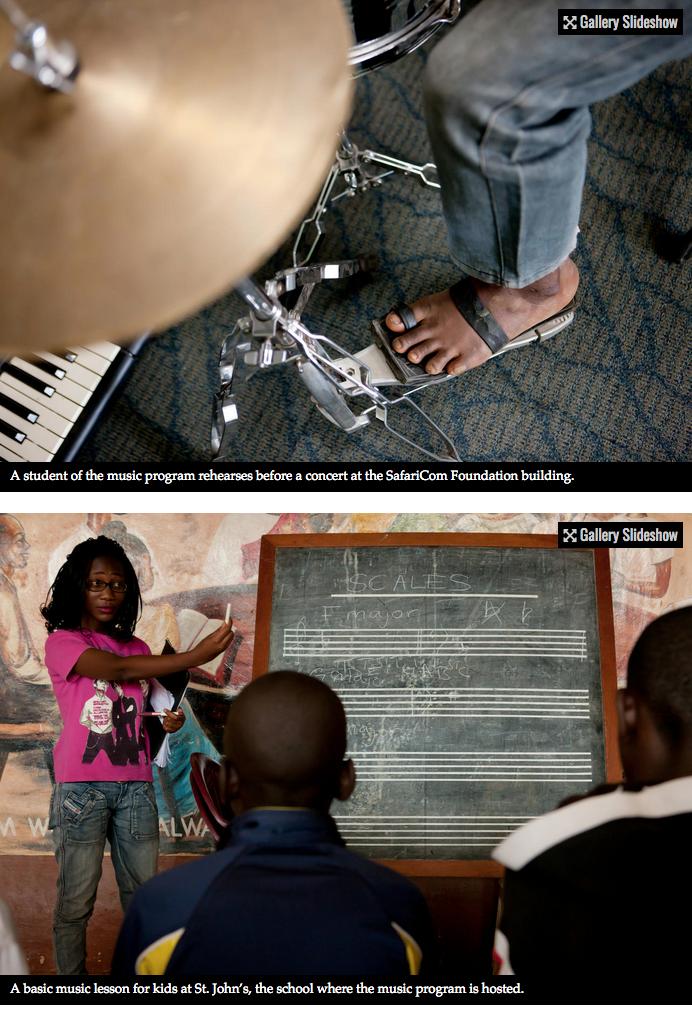 Bach to the future in a Nairobi slum 7