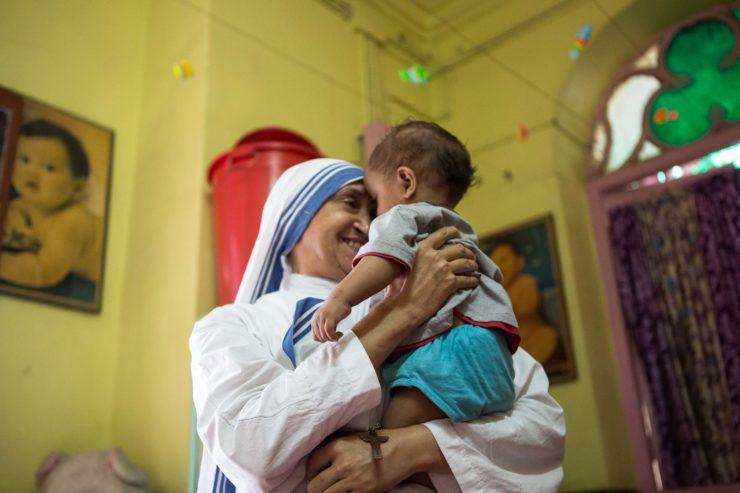 Mother Teresa For Saint!